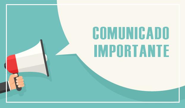 Comunicado – Unidade Curitiba